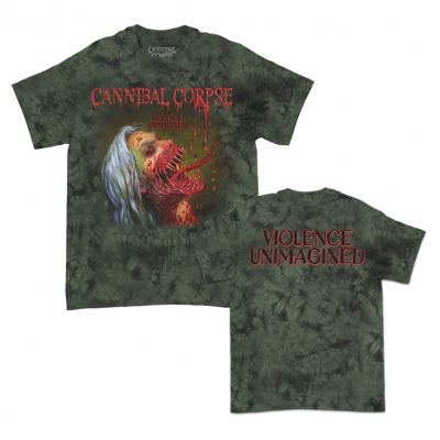 Violence Unimagined Cover Moss Dye | T-Shirt