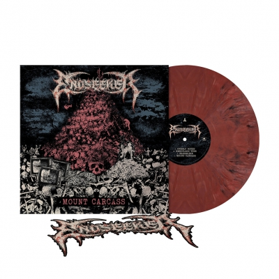 Mount Carcass | Brick Red Marbled Vinyl