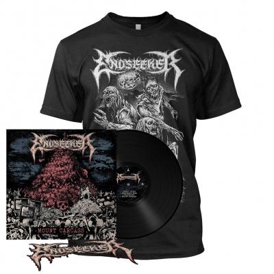 Mount Carcass | 180g Black Vinyl Bundle