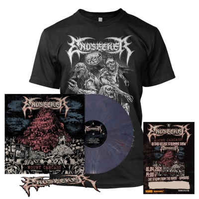 Mount Carcass | Dark Violet Marbled Vinyl+Ticket+T-Shirt