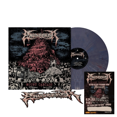 Mount Carcass | Dark Violet Marbled Vinyl+Ticket