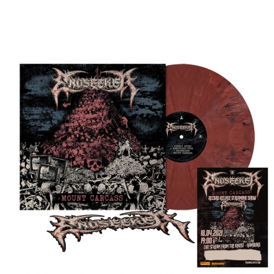 Mount Carcass | Brick Red Marbled Vinyl+Ticket