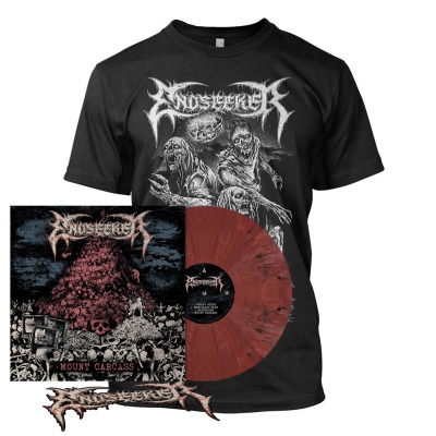 Mount Carcass | Brick Red Marbled Vinyl Bundle