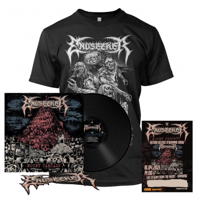 Mount Carcass | 180g Black Vinyl+Ticket+T-Shirt