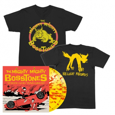 When God Was Great | 2xYellow w/Red Splatter Vinyl Bundle