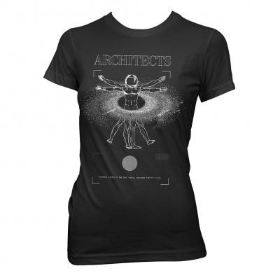 Vitruvian | Girl Fitted T-Shirt