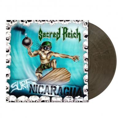 Surf Nicaragua | Clear w/Black Smoke Vinyl