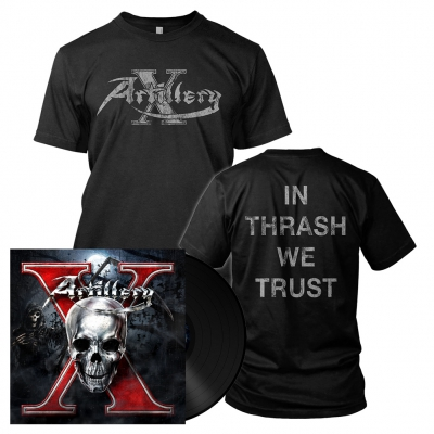 X | 180g Black Vinyl Bundle