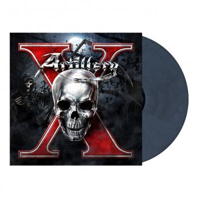 X | Violet Blue Marbled Vinyl