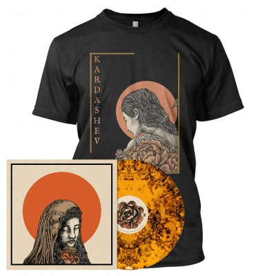 The Baring of Shadows | Orange/Black Dust Vinyl Bundle