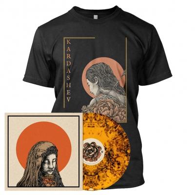 shop - The Baring of Shadows | Orange/Black Dust Vinyl Bundle