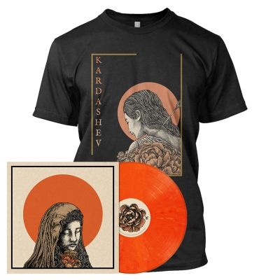 The Baring of Shadows | Orange Marbled Vinyl Bundle
