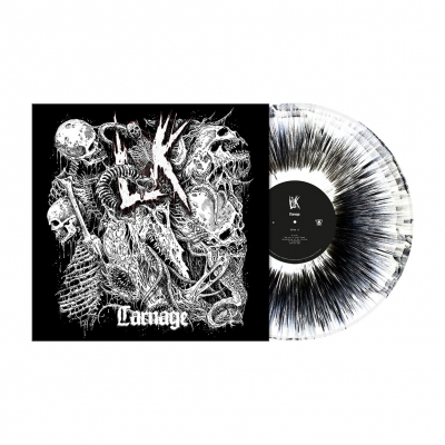 Carnage | White/Black Dust Vinyl