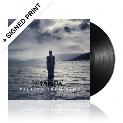 Falling From Fame | Black Vinyl + Signed Print