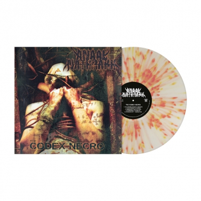 The Codex Necro | Clear/Red/Yellow Splatter Vinyl