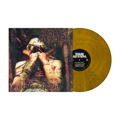The Codex Necro | Vomit Ochre Marbled Vinyl