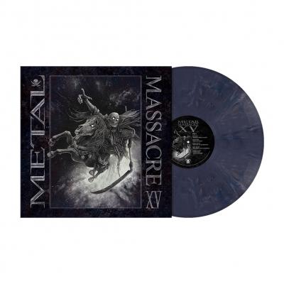 Metal Massacre XV | Night Blue Marbled Vinyl