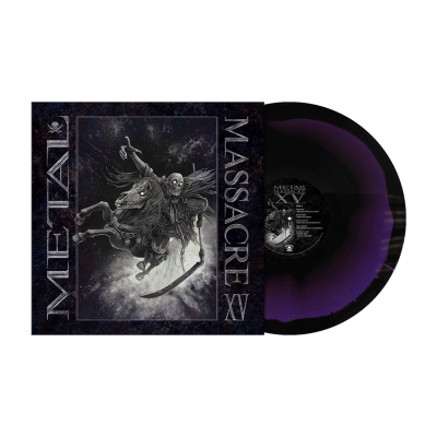 Metal Massacre XV | Deep Purple/Black Melt Vinyl