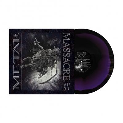 Metal Massacre XV | Deep Purple/Black Melt Vinyl