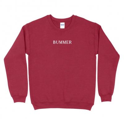 BUMMER CHERRY | EMBROIDERED CREWNECK