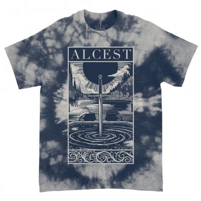 Spiritual Logo Framed Bone Navy Dye | T-Shirt