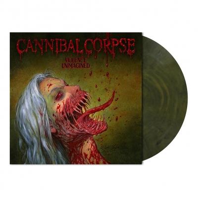 Violence Unimagined | Dark Olive Marbled Vinyl