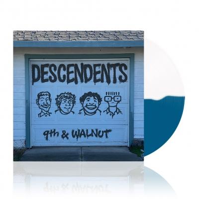 9th & Walnut | Half White/Half Aqua Blue Vinyl