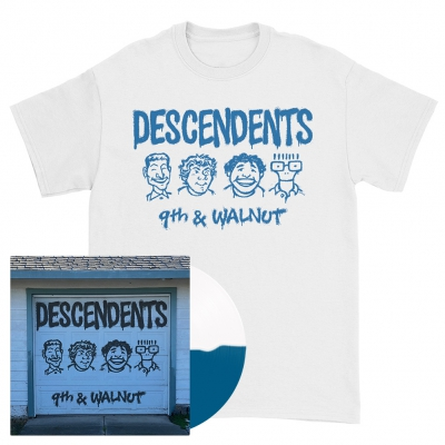 9th & Walnut | Half White/Half Aqua Blue Vinyl Bundle