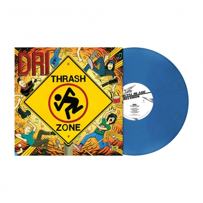 Thrash Zone | Blue Jeans Marbled Vinyl