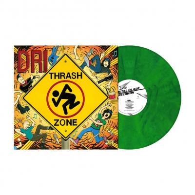 Thrash Zone | Bright Green Marbled Vinyl
