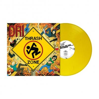 Thrash Zone | Traffic Sign Yellow Marbled Vinyl