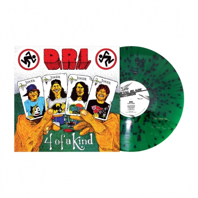 Four of a Kind | Green/Red Splatter Vinyl