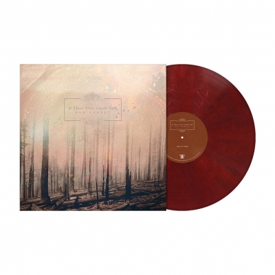 Red Forest | Dark Wine Red Marbled Vinyl