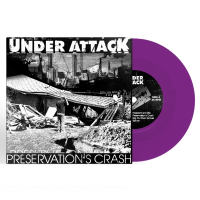 Preservation's Crash | Purple 7 Inch