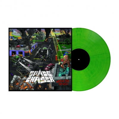 Watch the Skies | Neon Geen Marbled Vinyl