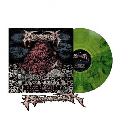 Mount Carcass | Leaf Green Marbled Vinyl