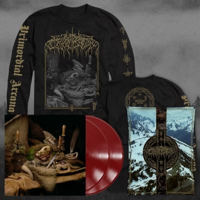 Primordial Arcana | 2xDeep Red Vinyl LS-Bundle