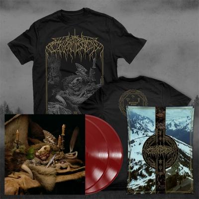 Primordial Arcana | 2xDeep Red Vinyl T-Bundle