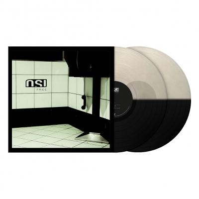 Free | 2xClear/Black Split Vinyl