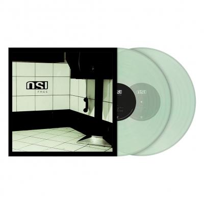 Free | 2xClear/Green Marbled Vinyl