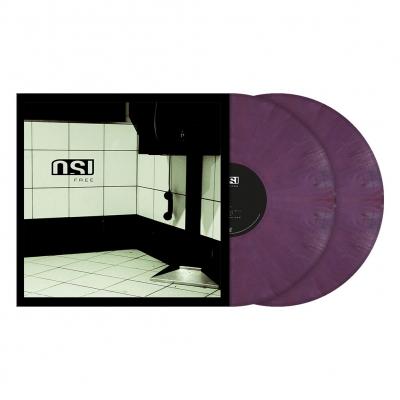 Free | 2xPurple Red Marbled Vinyl