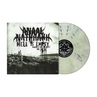 Hell Is Empty... | Ivory Grey Marbled Vinyl