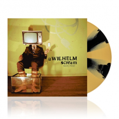 Mute Print | Black w/Gold Vinyl