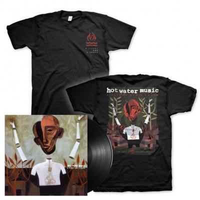 A Flight And A Crash | Black Vinyl+T-Shirt Bundle