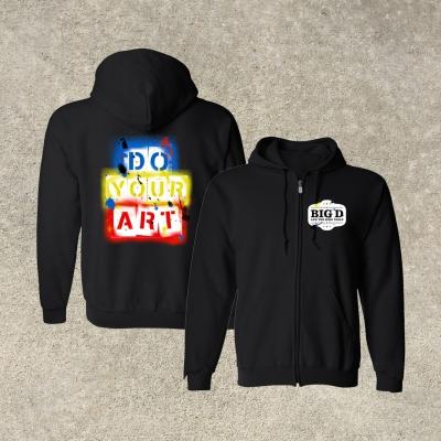 DO YOUR ART | Zip-Hood