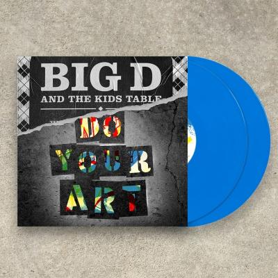 DO YOUR ART | 2xBlue Vinyl