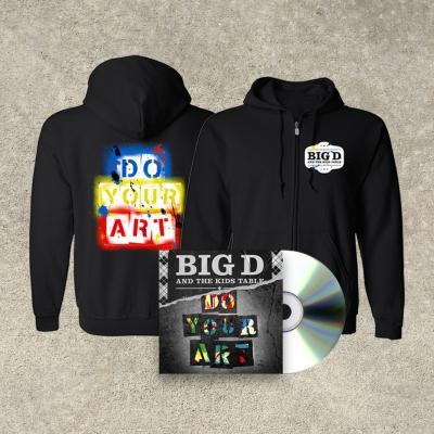 DO YOUR ART | CD+Zip Hood Bundle