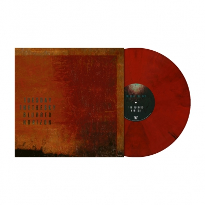 The Blurred Horizon | Orange Red Marbled Vinyl