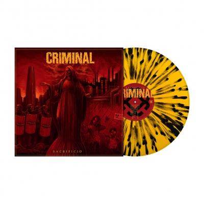 Sacrificio | Orange/Black Splatter Vinyl