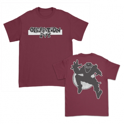 Skank Man Burgundy | T-Shirt